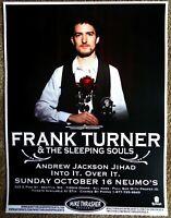 FRANK TURNER 2011 Gig POSTER Seattle Washington Concert
