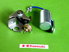 1974-1977 Kawasaki CONDENSER & CONTACT POINTS KIT tune up kz400 kz400d kz750