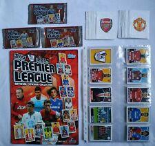 TOPPS Premier League 2014  Full Set / Empty Album  Brazil Edition + 3x Packet