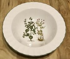 Serving Bowl By Mikasa Botany Ultra Cream Pattern