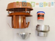 """5-6"""" Antidown Draught Cowl Easy Fit Instalation Kit"""