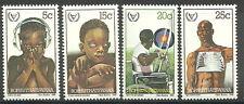 Bophuthatswana - Int. Jahr der Behinderten Satz 1981 postfrisch Mi. 68-71