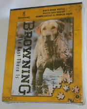 Yellow Lab Puzzle Dirty Work Browning 550 Pieces Hunting Dog Muddy New