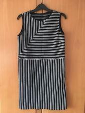 Schwarz weis französisches Abendkleid Gr 36 / 38 Damen