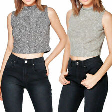 Unbranded Sleeveless Crop Tops for Women