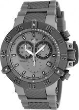 Invicta Subaqua Noma III Chronograph Gray Dial Silicone Strap Men's Watch 17214