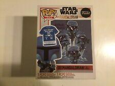 Star Wars The Mandalorian Death Watch No Stripes Funko Pop Vinyl Figure...