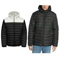 Only & Sons Mens New Liner Puffer Hooded Regular fit Black Winter Jacket Coats