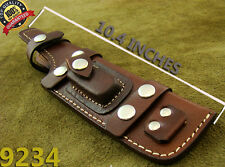 Alistar UK Handmade Multi Carry Knife Leather Sheath Bushcraft Camping TOP!(9234