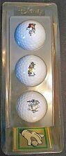NEW Vintage Disney Golf Balls Trophy Series Three Classics Acushnet Goofy Mickey