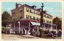 CROUTS HOTEL, PEN-MAR, PA. vintage autos