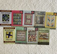 9 x Quilting Pattern Cards
