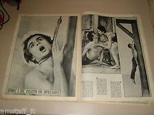 RUDOLF NUREYEV ZIZI JEANMAIRE clipping ritaglio articolo foto photo GENTE 1967/1