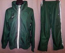 Nike Storm-Fit Green Reflective Rain Suit Track Suit EUC - Mens Medium