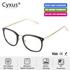 Cyxus Blue Light Blocking Computer Glasses Anti Eyestrain Fatigue Metal Arm