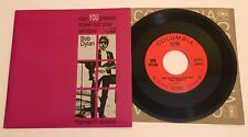 BOB DYLAN Highway 61 Revisited / Title ERROR / 2011 MONO 45 w/ PS / NM+ Unplayed
