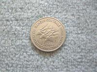 Zentralafrika Central African Äquatiorialafrikanische Staaten 50 Francs 1963 K-N