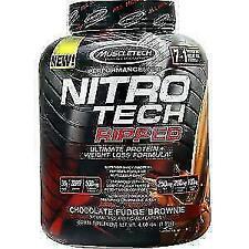 MuscleTech Nitro-Tech Ripped 2lbs French Vanilla Swirl Whey Protein