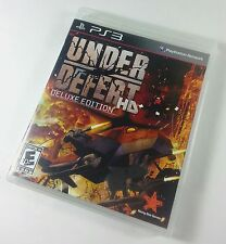 Under Defeat HD Deluxe Edition (Sony PS3, 2012) Missing Manual & Soundtrack