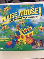 Tyco Games Retro Mouse, Mouse! Get Outta My House 2-4 Players Age 5+