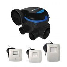 Kit VMC ALDES EasyHome HYGRO premium mw + Bouches bahia curve électrique