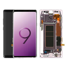 For Samsung Galaxy Note 8 9 LCD Screen Display Touch Digitizer Frame Replacement