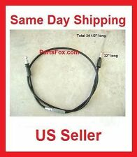 "Throttle Cable 90cc 110cc 125cc 34.5"" long 110 125 90 Taotao SunL Peace ATV Quad"