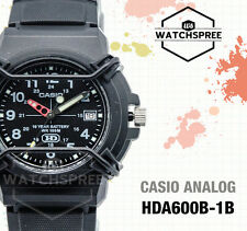 Casio Standard Analog Watch HDA600B-1B