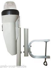 KAYAK Navigation Light LED Stern White Clamp on Battery Operated Nav 360 degr