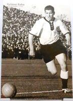 Helmut Rahn + Fußball Nationalspieler DFB + Fan Big Card Edition B4 +