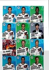 10 Rewe DFB Fußball Sammelkarten WM 2014 zum aussuchen