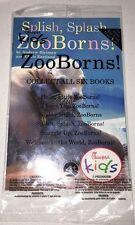 New Splish Splash Zoo Born Book Chick Fil A Kids Meal Toy