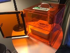 Mercury spill control kit with Plastic safety cabinet