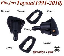2PCs Toyota Corolla, Echo, MR2, Tacoma, Celica2,Camry Windshield Washer Nozzle