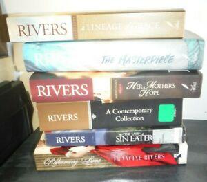 Francine Rivers Lot 6: Masterpiece, Last Sin, Mothers Hope, Lineage of Grace +