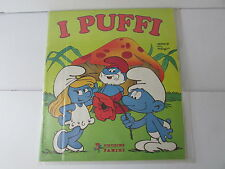 album panini I PUFFI - 1983-  mancano 21  figurine su 180 -