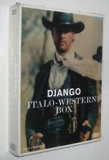 DJANGO ITALO-WESTERN BOX - box dvd import Germany /// SEALED