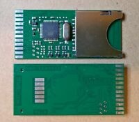 Internal fit SD2IEC Commodore 1541 Disk Drive Emulator SD Card Reader C64 Vic20