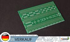 1 pezzi laureati buco scheda Griglia 110x70mm PCB circuito stampato per Arduino