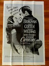 Kinoplakat UNDER CAPRICORN Alfred Hitchcock Ingrid Bergman Joseph Cotten
