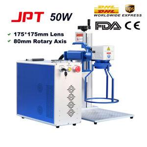 Handheld 50W JPT Laser Marking Machine Laser Engraver Metal Engraving Machine