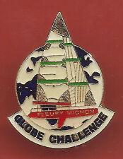 Pin's pin BATEAU VOILIER GLOBE CHALLENGE FLEURY MICHON (ref CL06)