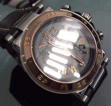 Reloj Cronógrafo para Hombres Genuino Gc Guess Colección De Oro Rosa Swiss X90005G2S