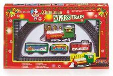 Premier Navidad Niños expreso 9 pieza tren juego con Vía