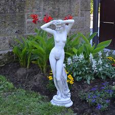Massive Steinfigur Statue Erotische Venus Steinguss frostfest Dekorationselement