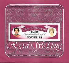 Seychelles - 1981, Royal Wedding sheet - MNH - R7.50      MY REF 932