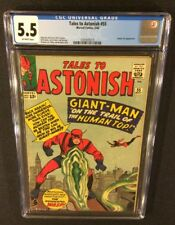 TALES TO ASTONISH #55 Comic CGC 5.5 Marvel 1964 Ant-Man WASP Human Top LEE Kirby