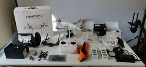 DJI Phantom 2 Drohne Quadrocopter 2x Gimbal Funkstrecke & OSD Mini für GoPro 4+