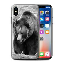 Animaux de zoo Coque Gel pour iPhone X/10/Ours