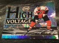 ERIC LINDROS 1996 Pinnacle Summit HIGH VOLTAGE #16 of 16 (PROMO) Flyers NM-MT